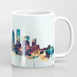 Louisville Kentucky City Skyline Coffee Mug