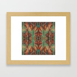 Ecstatic Pelvis (Meat Flame) (Reflected) Framed Art Print