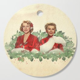 Sisters - A Merry White Christmas Cutting Board