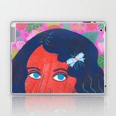 Strawberry Girl Laptop & iPad Skin