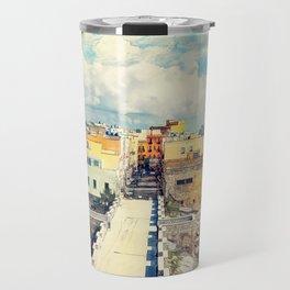 Trapani art 18 Sicily Travel Mug