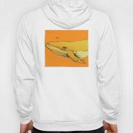 Orange Whale Hoody