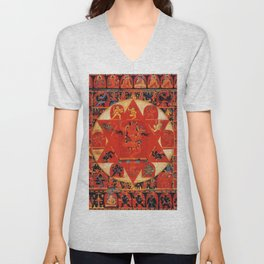 Mandala Buddhist 11 Unisex V-Neck