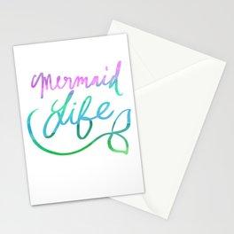 Mermaid Life Stationery Cards