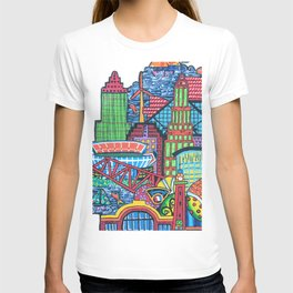 DownTown Cleveland Through My Eyes T-shirt