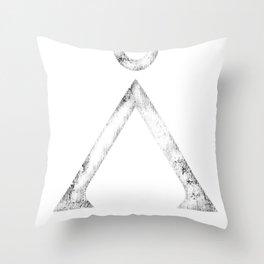 Stargate Grunge Throw Pillow