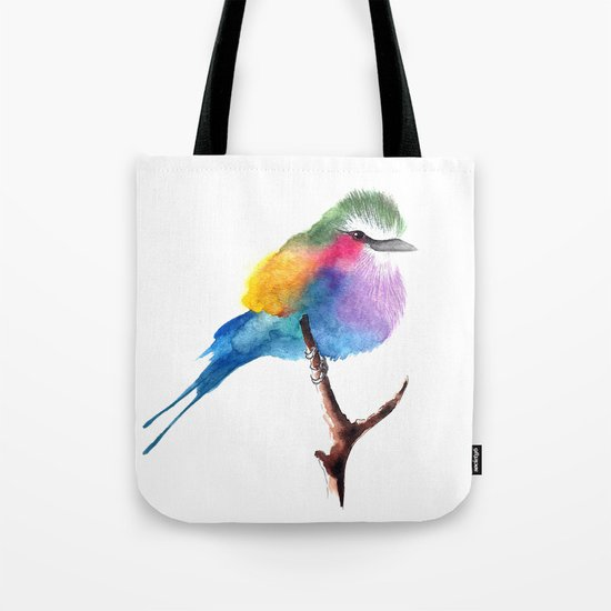 The Lilac-breasted Roller Tote Bag
