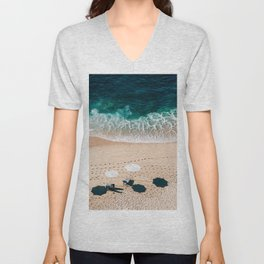 Beach Vacation Unisex V-Neck