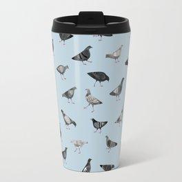 Pigeons Travel Mug