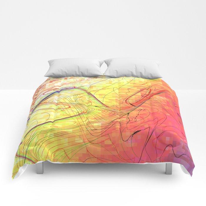 goodbye morning freestyle Comforters