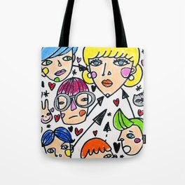 Pop girl Tote Bag