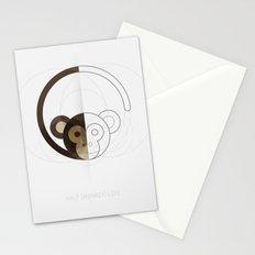 HALF (monkey) LIFE Stationery Cards