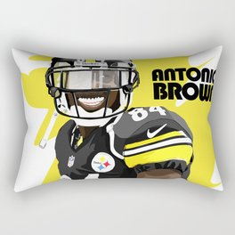 Antonio Brown  Rectangular Pillow