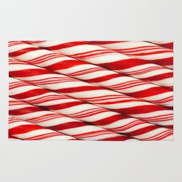 Candy Cane Pattern Rug