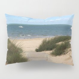 Breezy Seaside Path Pillow Sham