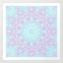 Crystalline Kaleidoscope 2 Art Print