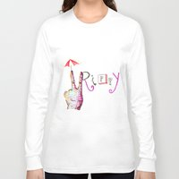trippy Long Sleeve T-shirts featuring Trippy by AudArt
