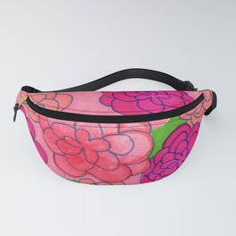 Flower Push 2 Fanny Pack