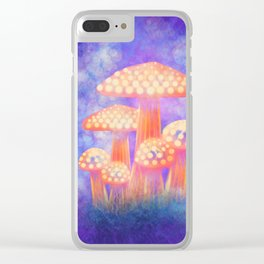 Glow Clear iPhone Case