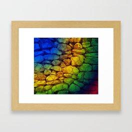 pop rocks Framed Art Print