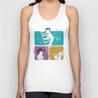 moriarty Tank Tops featuring Catch Moriarty! by sadyna