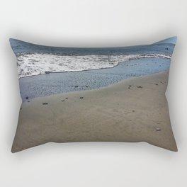 Black sand beach, El Salvador 2 Rectangular Pillow