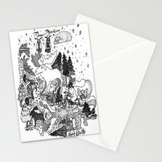 Moose Motor Cycles Stationery Cards
