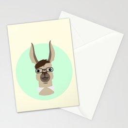 Mr. Llama Stationery Cards
