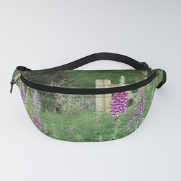 Woodland Gate Foxgloves  Fanny Pack