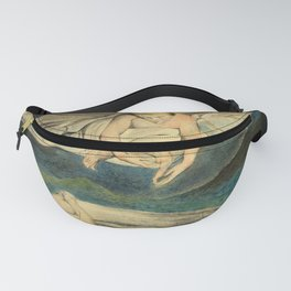 """William Blake """"Pity"""" Fanny Pack"""