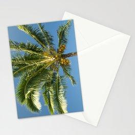 Hawaiian Coconut Palm Tree Stationery Cards