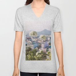 View of the Trai Mat Unisex V-Neck