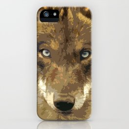 IBERIAN WOLF. iPhone Case