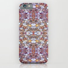 Seashells Ornament Pattern Rainbow Slim Case iPhone 6s
