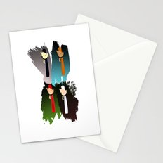 girls swings Stationery Cards