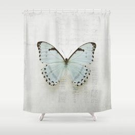 Morpho Shower Curtain