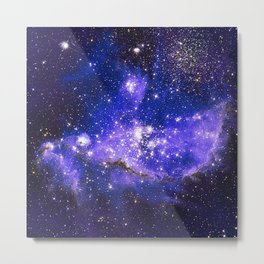 Infant Stars in Neighbouring Galaxy Metal Print