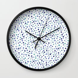 Bubble Rocks-Blue : Part of Organic Medallion collection Wall Clock
