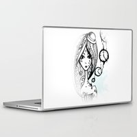 watch Laptop & iPad Skins featuring watch by DanilaTrubarova