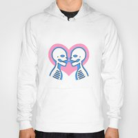 mouth Hoodies featuring Mouth To Mouth (Gay) by Eat Yr Ghost