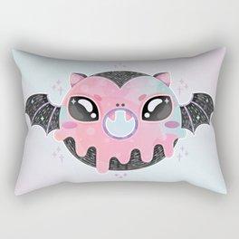 Batty Donut Rectangular Pillow