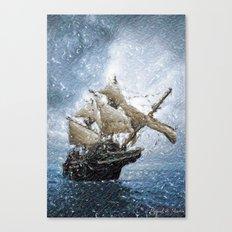 Imminent storm Canvas Print