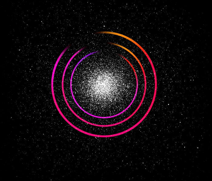 Supernova Metal Travel Mug