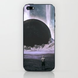 Stare Into An Abyss iPhone Skin