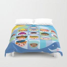 small world Duvet Cover