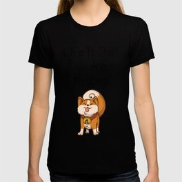 Short Legs Corgi Love Dog T-shirt