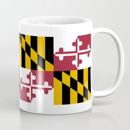 Flag of Maryland, High Quality image Coffee Mug