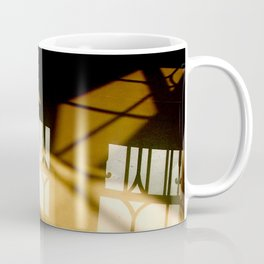 REFLECTIONS IN YELLOW Coffee Mug