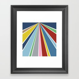 Star Fan 2 Framed Art Print