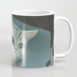 Spy Cat Coffee Mug